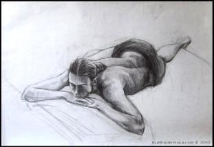 life drawing #3, 2003
