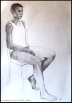 life drawing #4, 2003