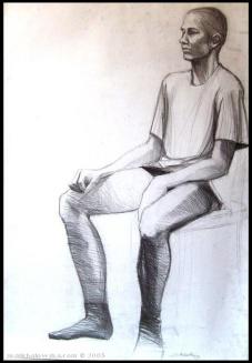 life drawing #5, 2003