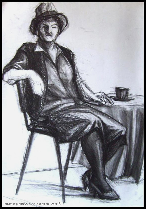 life drawing #6, 2003